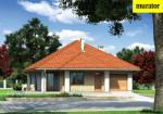 Проект одноэтажного дома   - Муратор М153