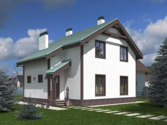 Каталог проектов домов, коттеджей, дач и бань от компании